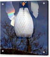 Penguin Angel Acrylic Print