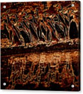 Penguin Reflections Acrylic Print