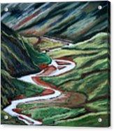 Pennine Valley. Acrylic Print