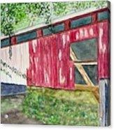 Pennsylvania Bridge To Nowhere Acrylic Print