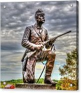 Pennsylvania Cavalry - Culps Hill Acrylic Print