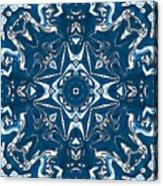 Pennsylvania Dutch Kaleidoscope Acrylic Print