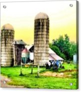 Pennsylvania Farming  Acrylic Print