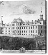 Pennsylvania Hospital, 1755 Acrylic Print by Granger