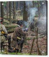 Pennsylvania Hunter Acrylic Print by Randy Steele