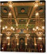 Pennsylvania Senate Chamber Acrylic Print