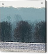 Pennsylvania Winter Acrylic Print