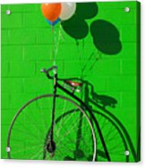 Penny Farthing Bike Acrylic Print by Garry Gay
