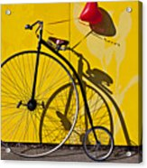Penny Farthing Love Acrylic Print