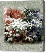Penny Postcard Romantica Acrylic Print