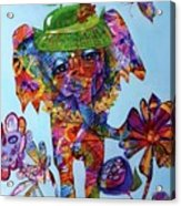 Penny Steps Out Acrylic Print