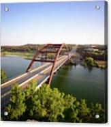 Pennybacker Bridge Acrylic Print