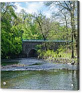 Pennypack Creek Bridge Built 1697 Acrylic Print