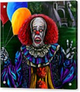 Pennywise It Acrylic Print