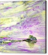 Penon De Ifach In Calpe 02 Acrylic Print