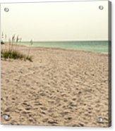 Pensacola Beach 2 Panorama - Pensacola Florida Acrylic Print