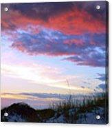 Pensacola Sunset After The Storm Acrylic Print