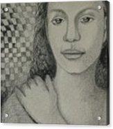 Pensiveness Acrylic Print