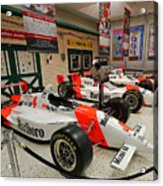 Penske Racing Indy 500 Hall Of Fame Museum Acrylic Print