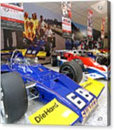 Penske Room In Indy Acrylic Print