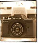 Pentax 110 Auto Acrylic Print
