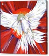 Pentecost Dove Acrylic Print