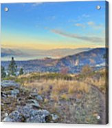 Penticton In The Distance Acrylic Print