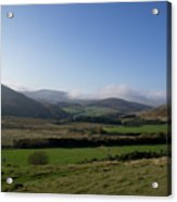 Pentlands With Clouds And Some Sun. Acrylic Print