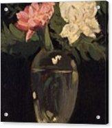 Peonies 1905, By Samuel John Peploe Acrylic Print