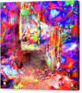 People In Abstract #6 Acrylic Print