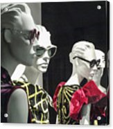People - Mannequins Acrylic Print