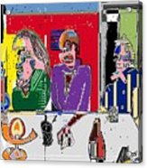 People Places Parties Politics 2008 Acrylic Print