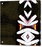 Pepitas Oriental Art Acrylic Print