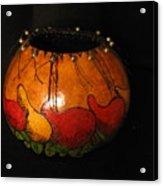 Pepper Gourd Acrylic Print