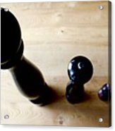 Pepper Mill Topside Acrylic Print