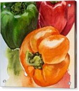 Peppers 3 Acrylic Print