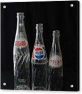 Pepsi Bottles Acrylic Print