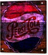 Pepsi Cola 1a Acrylic Print
