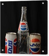 Pepsi From Around The World Acrylic Print