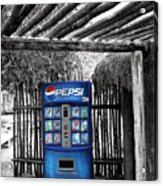 Pepsi Generation Palm Springs Acrylic Print