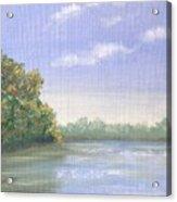 Percuil River, Cornwall Acrylic Print