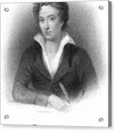 Percy Shelley (1792-1822) Acrylic Print