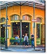 Pere Antoine Restaurant - Paint Acrylic Print