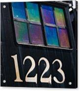 Pere Marquette Locomotive 1223 Acrylic Print