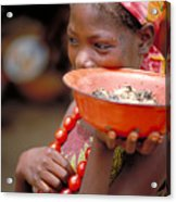 Perfect Balance In Niger Acrylic Print