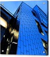 Perfect Blue Buildings Acrylic Print