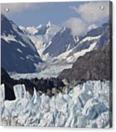Perfect Day At Margerie Glacier Acrylic Print