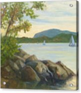 Perfect Day For A Sail Acrylic Print