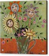 Perfect Garden Acrylic Print