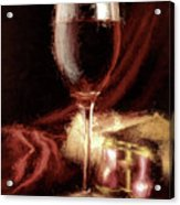 A Perfect Glass Of Wine Acrylic Print